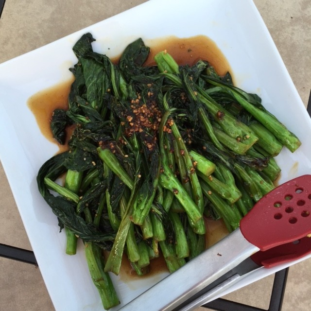 Chinese Broccoli with Garlic Oyster Sauce
