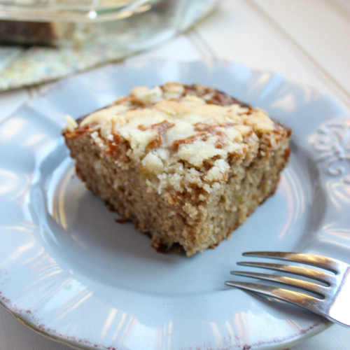 Banana Breakfast Cake