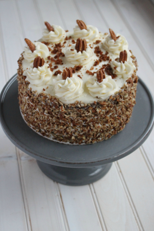 Spice Cake with Cream Cheese Buttercream
