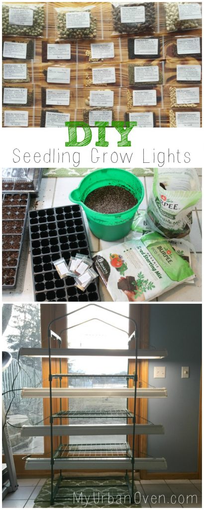 DIY Seedling Grow Lights My Urban Oven