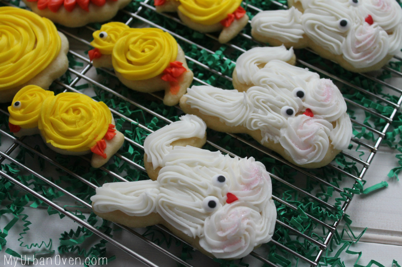 Easter Sugar Cookies- Bunnies