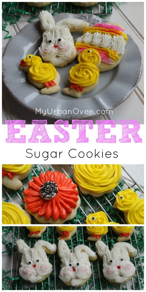 Easter Sugar Cookies My Urban Oven