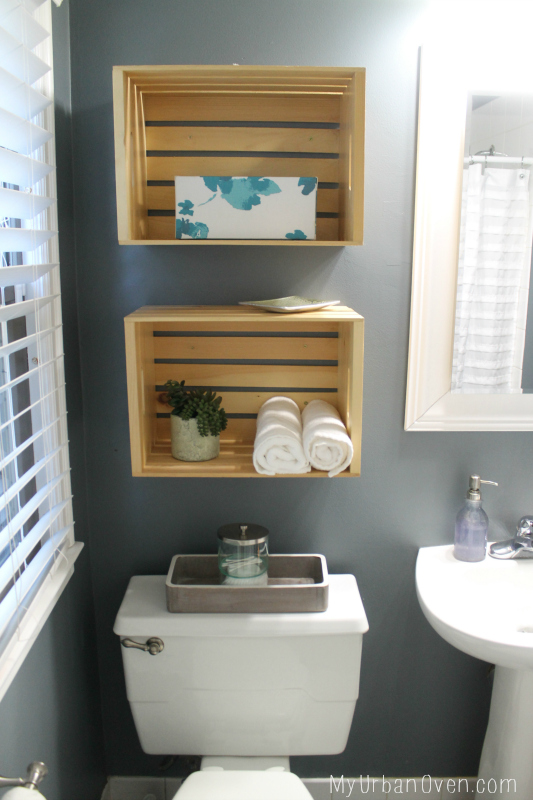 Our First House Bathroom Makeover My Urban Oven